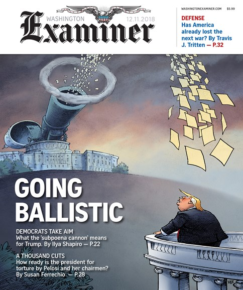 Washington Examiner Cover - 12/11/2018