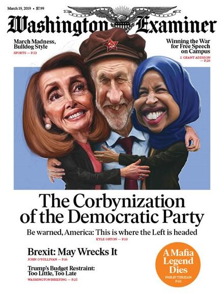 Washington Examiner Cover - 3/19/2019