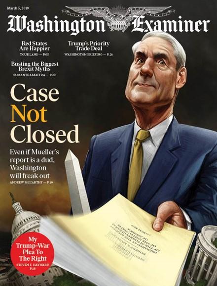 Washington Examiner Cover - 3/5/2019
