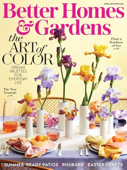 Better Homes & Gardens Cover - 4/1/2019