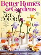 Better Homes & Gardens Magazine 4/1/2019
