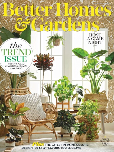 Better Homes & Gardens Cover - 3/1/2019