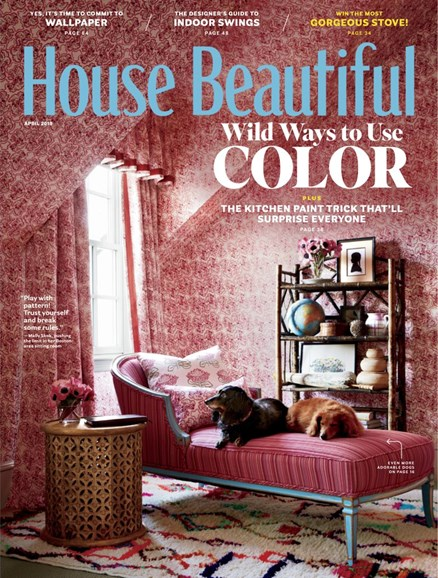 House Beautiful Cover - 4/1/2019