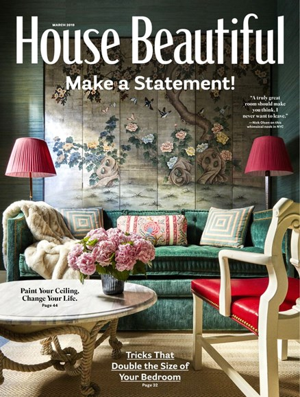 House Beautiful Cover - 3/1/2019