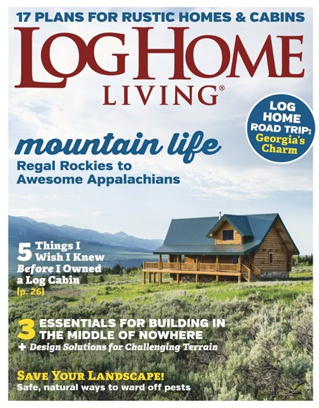 Log Home Living Cover - 4/1/2019