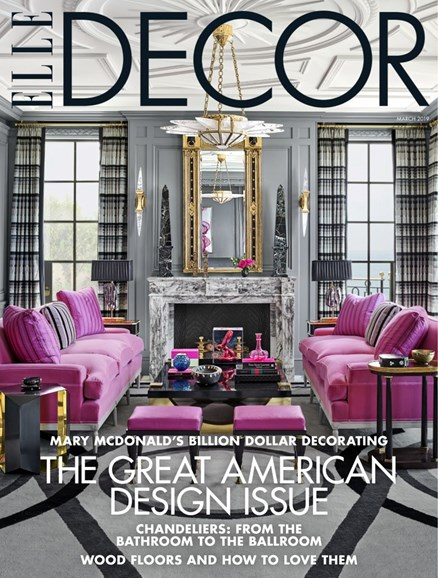 ELLE DECOR Cover - 3/1/2019