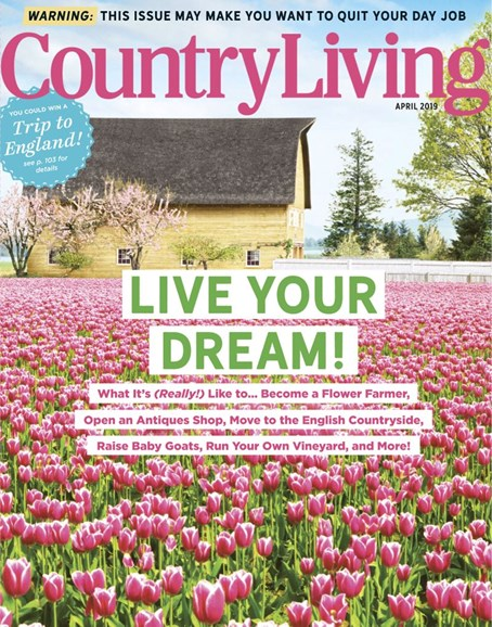 Country Living Cover - 4/1/2019