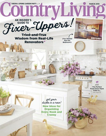 Country Living Cover - 3/1/2019