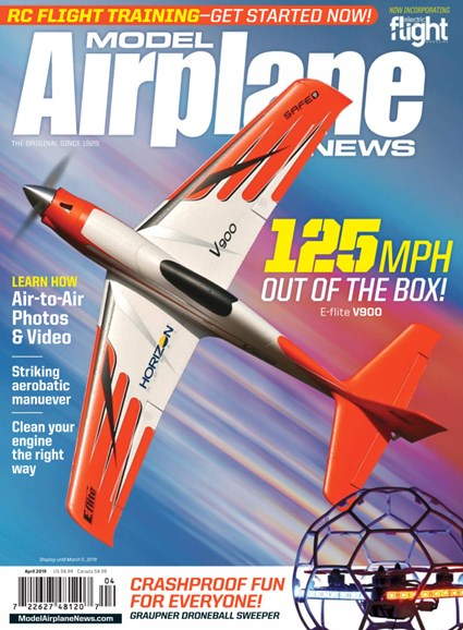 Model Airplane News Cover - 4/1/2019
