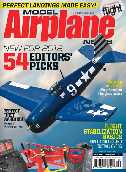 Model Airplane News Cover - 2/1/2019
