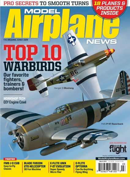 Model Airplane News Cover - 3/1/2019