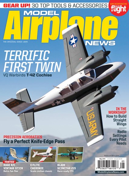 Model Airplane News Cover - 5/1/2019