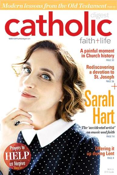 Catholic Digest Cover - 3/1/2019