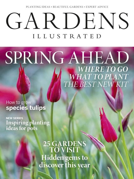 Gardens Illustrated Cover - 3/1/2019