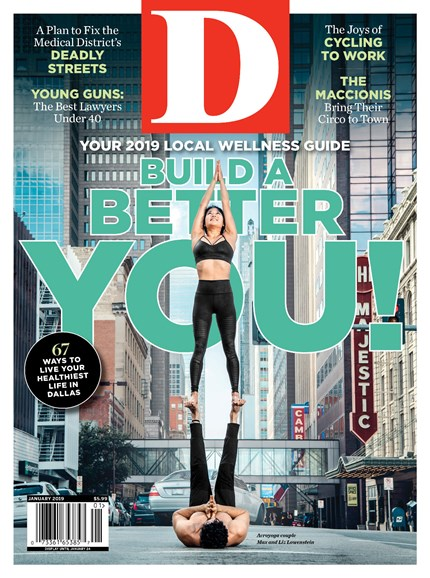 D Magazine Cover - 1/1/2019