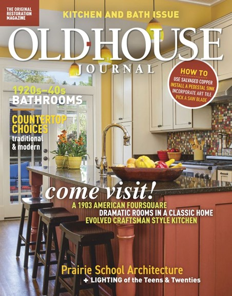 Old House Journal Cover - 3/1/2019