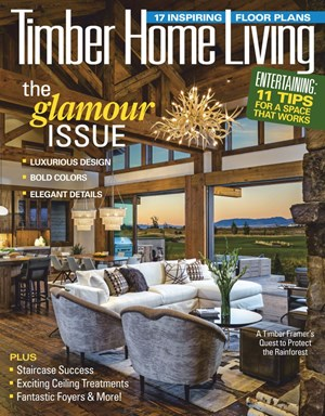 Timber Home Living Magazine   3/2019 Cover