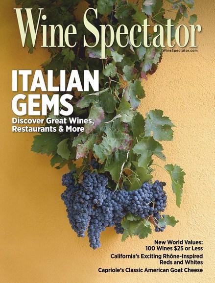 Wine Spectator Cover - 4/30/2019