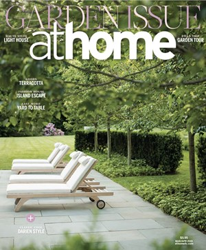 At Home in Fairfield County Magazine   3/2019 Cover