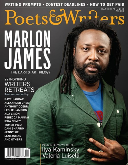 Poets & Writers Cover - 3/1/2019