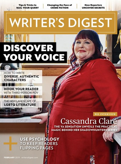 Writer's Digest Cover - 2/1/2019