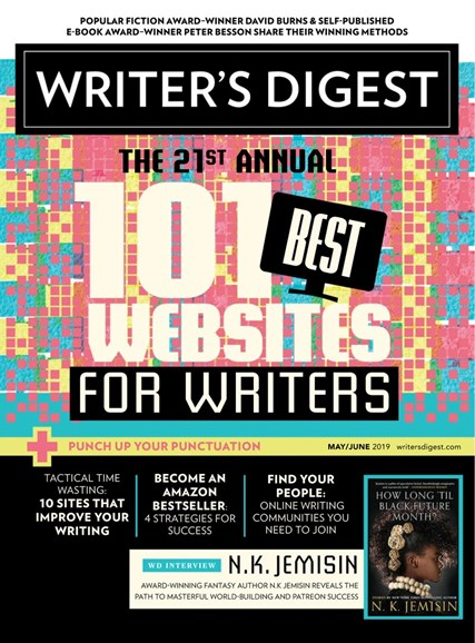 Writer's Digest Cover - 5/1/2019