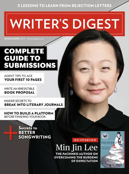 Writer's Digest Cover - 3/1/2019