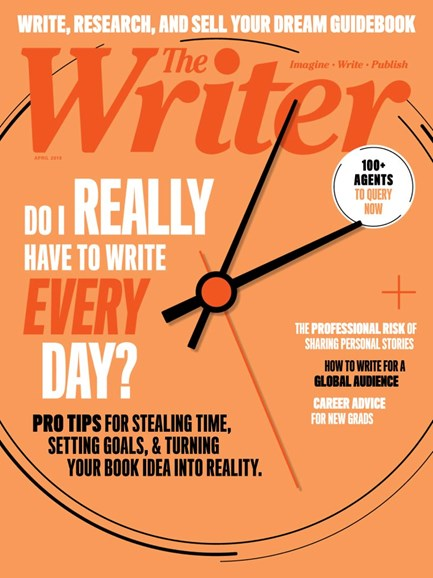 The Writer Cover - 4/1/2019
