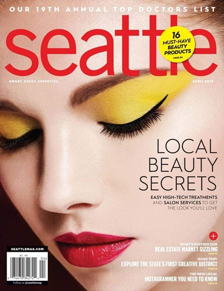 Seattle Magazine Cover - 4/1/2019