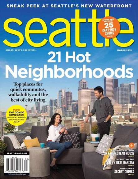Seattle Magazine Cover - 3/1/2019
