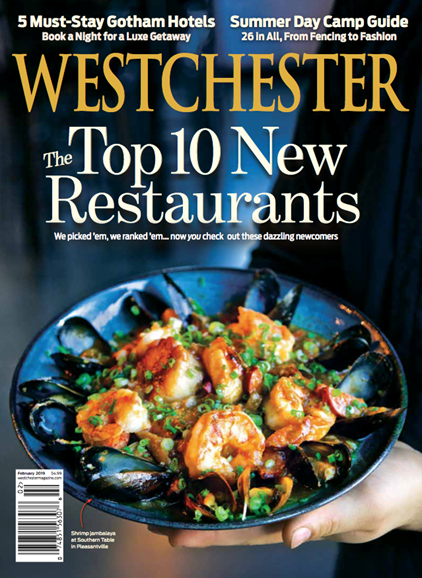 Westchester Magazine Cover - 2/1/2019