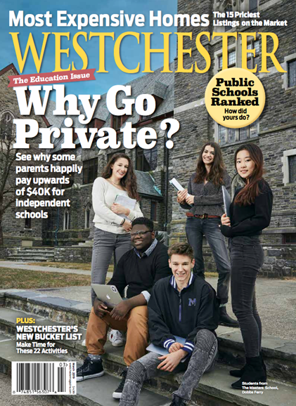 Westchester Magazine Cover - 3/1/2019