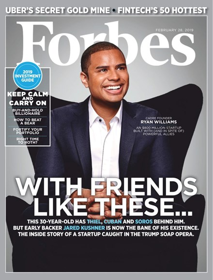 Forbes Cover - 2/28/2019