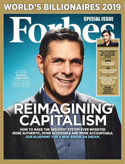 Forbes Cover - 3/31/2019