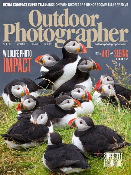 Outdoor Photographer Cover - 4/1/2019