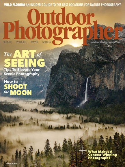 Outdoor Photographer Cover - 3/1/2019