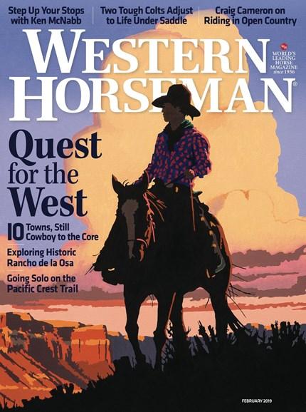 Western Horseman Cover - 2/1/2019