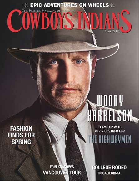 Cowboys & Indians Cover - 4/1/2019
