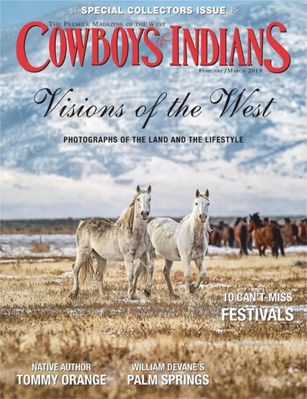 Cowboys & Indians Cover - 2/1/2019