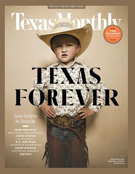 Texas Monthly Cover - 2/1/2019