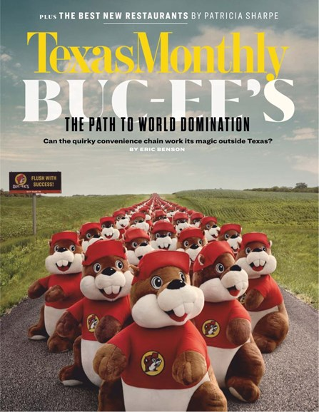 Texas Monthly Cover - 3/1/2019