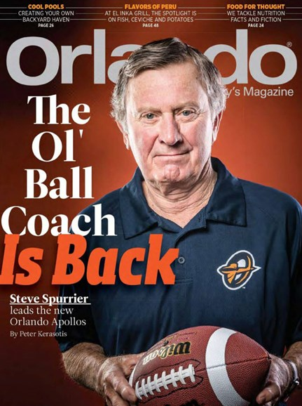 Orlando Magazine Cover - 2/1/2019
