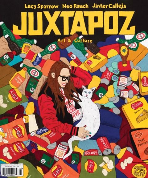 Juxtapoz Cover - 3/1/2019