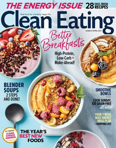 Clean Eating Cover - 3/1/2019