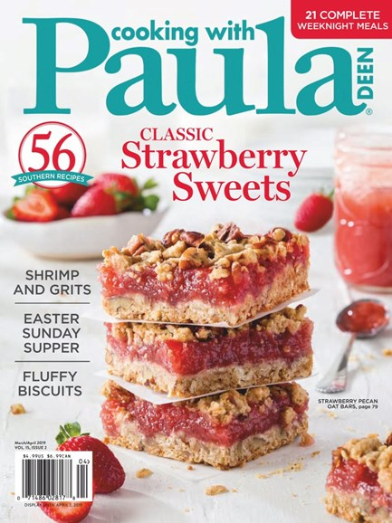 Cooking With Paula Deen Cover - 3/1/2019