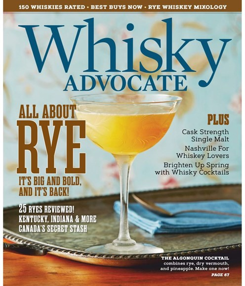 Whisky Advocate Cover - 3/1/2019