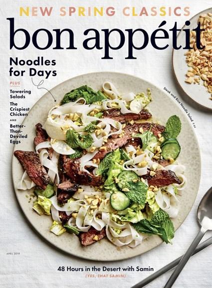 Bon Appétit Cover - 4/1/2019