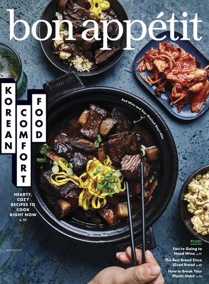 Bon Appétit Cover - 3/1/2019