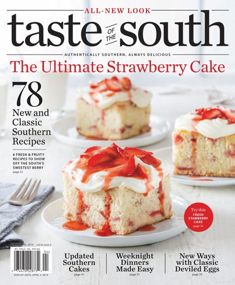 Taste of the South Cover - 3/1/2019