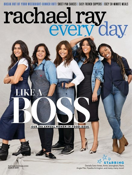 Rachael Ray Every Day Cover - 3/1/2019